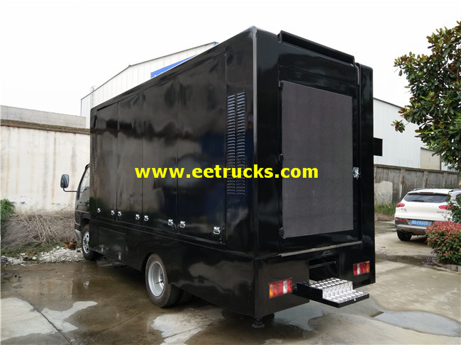 LED Mobile Billboard Vehicle