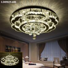 haute luminosité a mené des lampes modernes de lustre en cristal