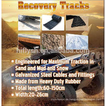 HF-011A Tracks Auto Anhänger pedophilen Platte rutschfeste Recovery Tracks (PAHS-Zertifikat)