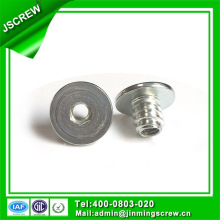 Flat Head Socket Drive Steel Insert Nut