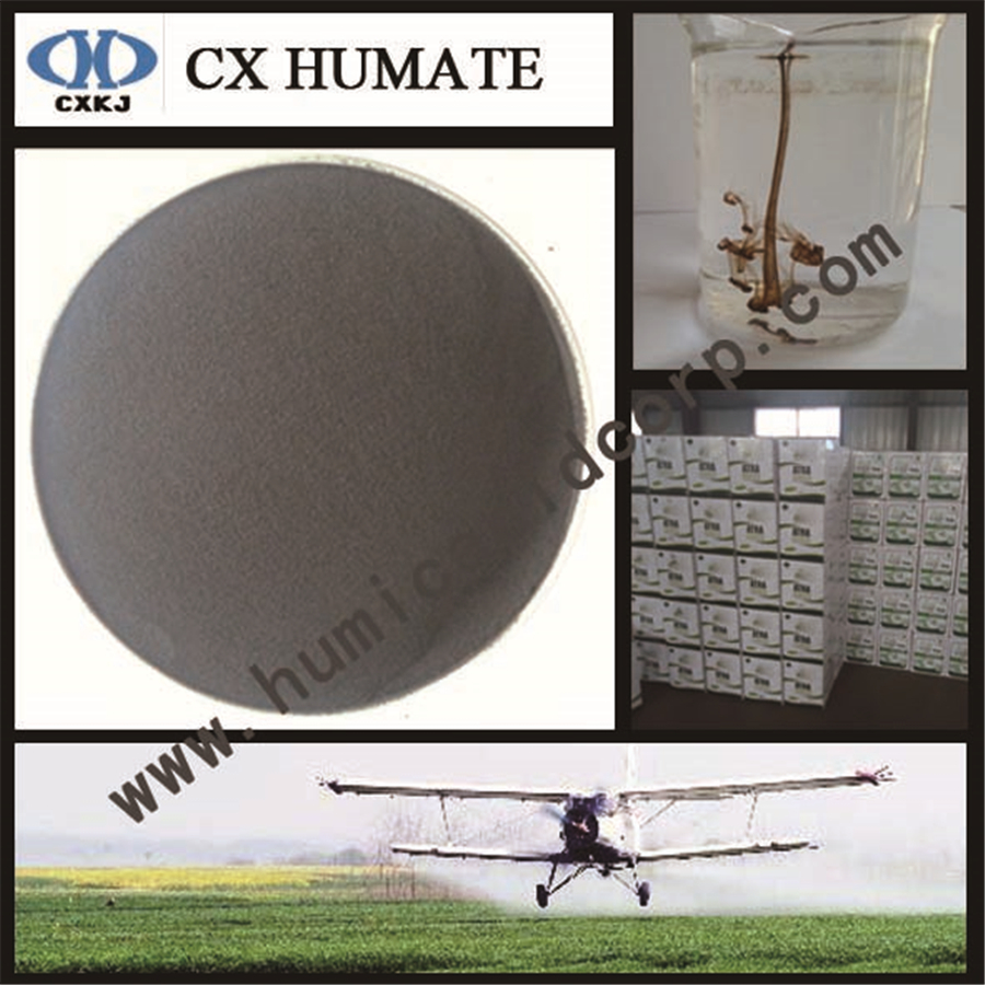 100% soluble Potassium humate powder
