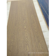 Delicate Brushed Engineered 3 Layers Ash Parquet Pisos de madera maciza