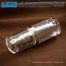 2014 novos produtos série YB-AD 15ml lindo diamante frasco acrílico redonda luxo