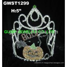BOO couronne tiara fantôme de citrouille