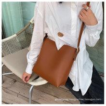 Custom 2021 new style top quality ladies bag pu single shoulder bag