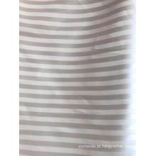 Tecido de poliéster com listra jacquar de 1cm
