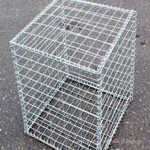 Welded gabion basket gabion wire mesh used retaining wall blocks