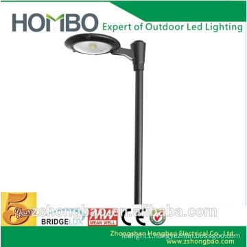 15w 50w 110 volt big post led yard garden lamps with pole