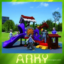 Children's Plastic Home Playground Equipment