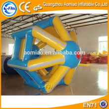 Water sports product inflatable water wheel, inflatable water roller