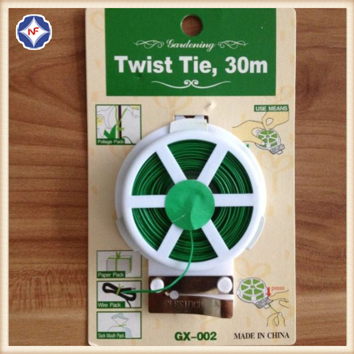 Plastic Coated Iron Wire Twist Stropdassen