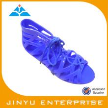 Sandale en PVC bon marché en stock