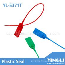 Sceau en plastique de haute sécurité pour la compagnie logistique utilisant (YL-S371T)