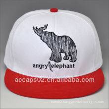 100%cotton snapback cap