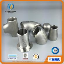 Venta caliente de acero inoxidable Wp316 / 316L Con. Adaptador de tubería reductora (KT0254)