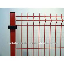 Venta caliente de alta calidad paneles de la cerca curvada