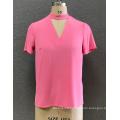 women's V neck  blouse