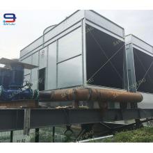 Torre de enfriamiento abierta de acero eficiente de 291 toneladas para la refrigeración por agua de proceso