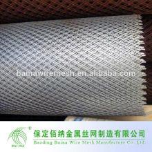 Malla de alambre de acero expandido galvanizado