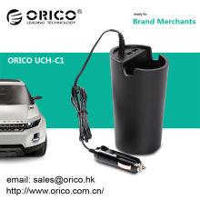 ORICO UCH-C1 Chargeur double voiture USB créatif 5V2.4A pour télécommande PC portable