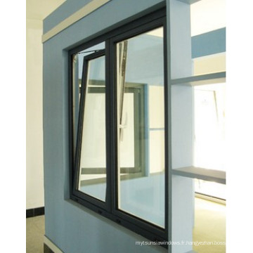 Inclinaison en aluminium de coupure thermique et fenêtre en aluminium de rotation