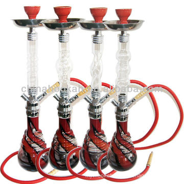 chinahookah big glass modern design shisha hookah /water pipe/hubbly bubbly with high quality CH690