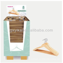 Colgante de madera de promoción de color natural promocional barato