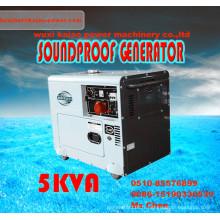 Générateur diesel silencieux portable de faible prix 5kw /5.5kVA