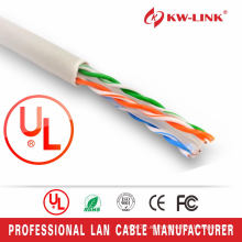 UTP 24AWG Cable de datos CAT5E interior, CAT5E Cable estructurado