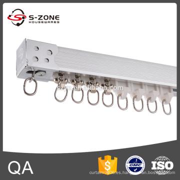 Nueva pista de la cortina de la plata del diseño de SZONE para la decoración casera