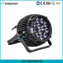 Ao ar livre 12 PCS * 14 W Rgbaw-UV 6-em-1 LED Iluminação Decoração de Jardim