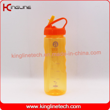 700ml plastic sports water drink bottle with BPA FREE (KL-7140)