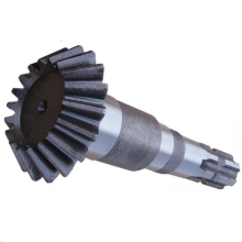 Lokomotif Bevel Helical Gear Shaft for Bulldozer