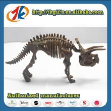 Estatueta de brinquedo de dinossauro plástico promocional por atacado