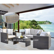 Garden Rattan Wicker Sectional Outdoor Sofa Set