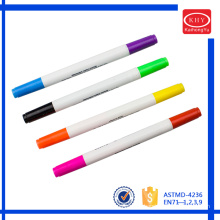 Assorted colors dual heads OEM customized scented highlighter