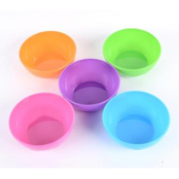 5 Pcs Multi Colors Baby Feeding Bowls