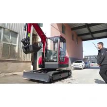 mini excavator tilt rotator mini excavator grapple