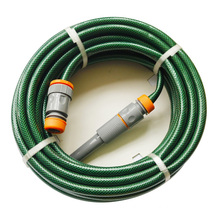 15m (50′) UV Resistant Reinforced PVC Garden Hose with Polyester Thread