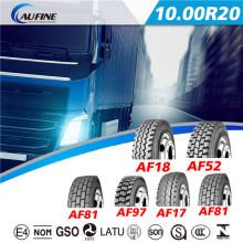 Radial pneus melhores qualidade ônibus o pneu do caminhão (10.00R20)