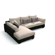 Modern Home Furniture Fabric Sofa Set