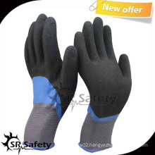SRSAFETY 13G Knit Nylon Double dipped nitrile gloves