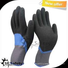 SRSAFETY 13G Knit Nylon Перчатки с двойным окунанием нитрила