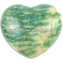 40MM Amazonite Stone Hearts