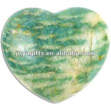Corações da pedra de Amazonite de 40MM