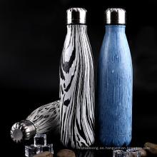 Frasco de botella de vacío de agua para deportes al aire libre