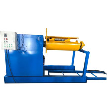 Automatic sheet metal coil loading uncoiler
