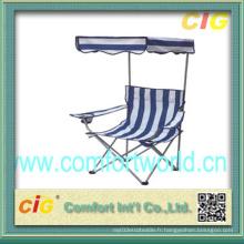 Chaise de plage / chaise de camp extérieur (SGLP04277)