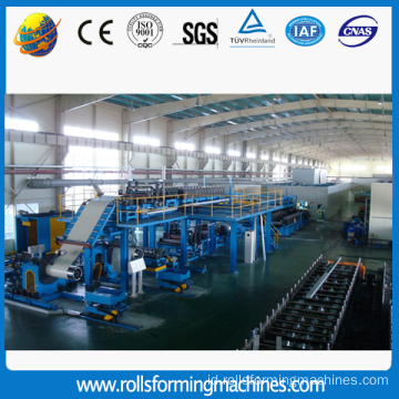 Rockwool Sandwich Panel Roll Forming Machine Dengan