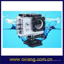 Cámara al aire libre del coche del deporte de 1080p HD Videocámara del coche de DV del submarino 30m pequeño OX-W8